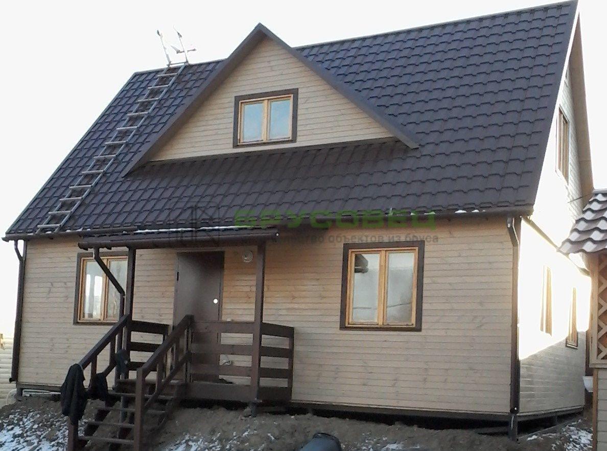 Дом «По индивидуальному проекту» 6х9м (под ключ)