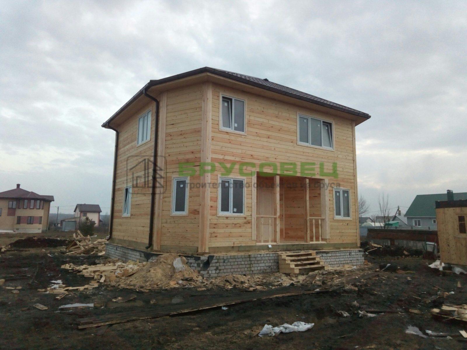 Дом «По индивидуальному проекту » 6х9м (под ключ)