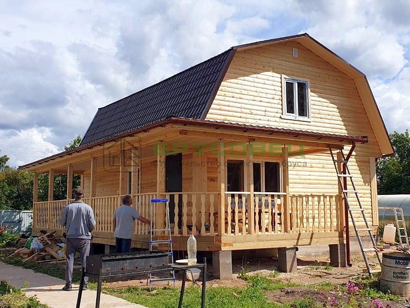 Дом по проекту «Мардин» 8.5×11 м (под ключ)