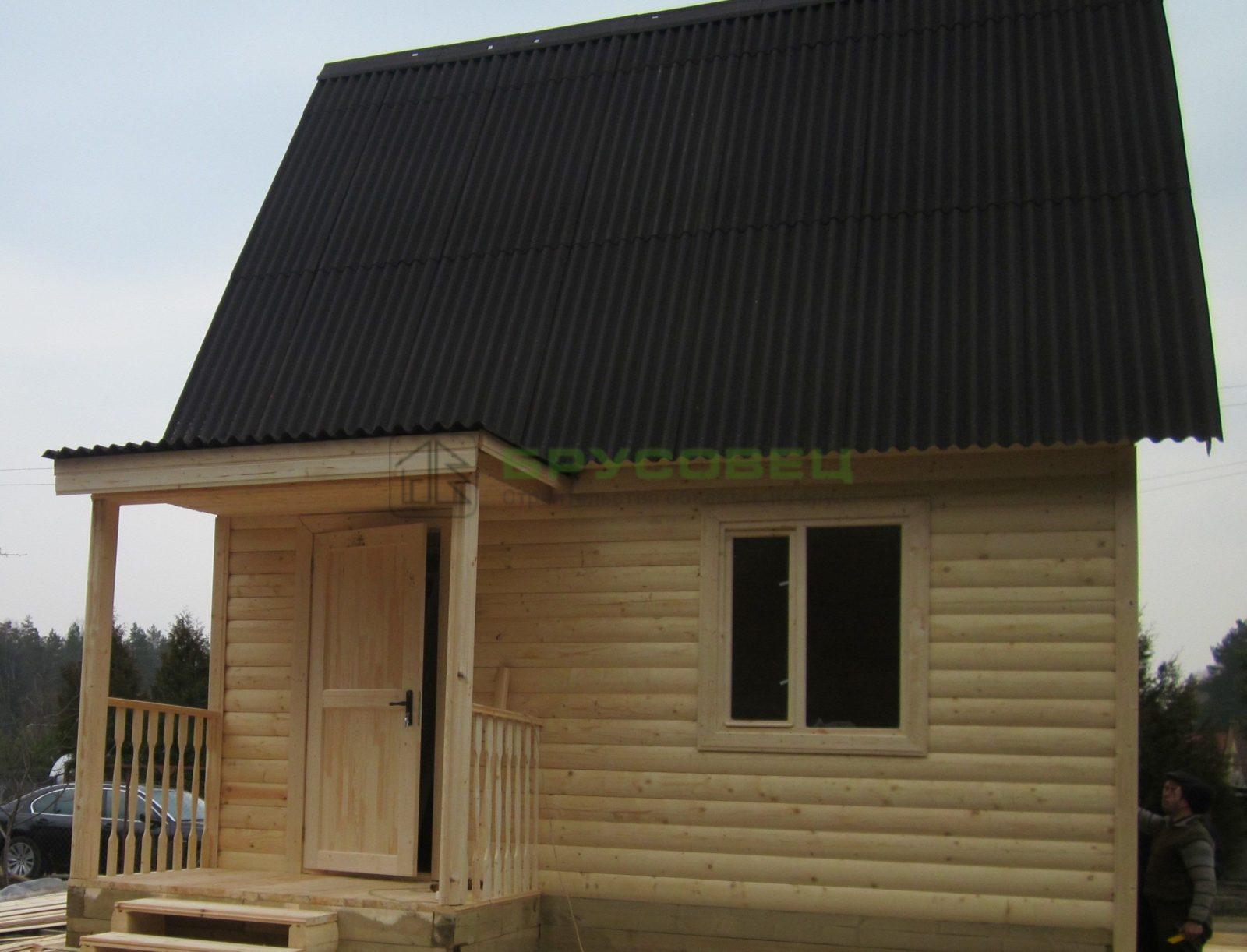 Дом «По индивидуальному проекту» 6х6м (под ключ)