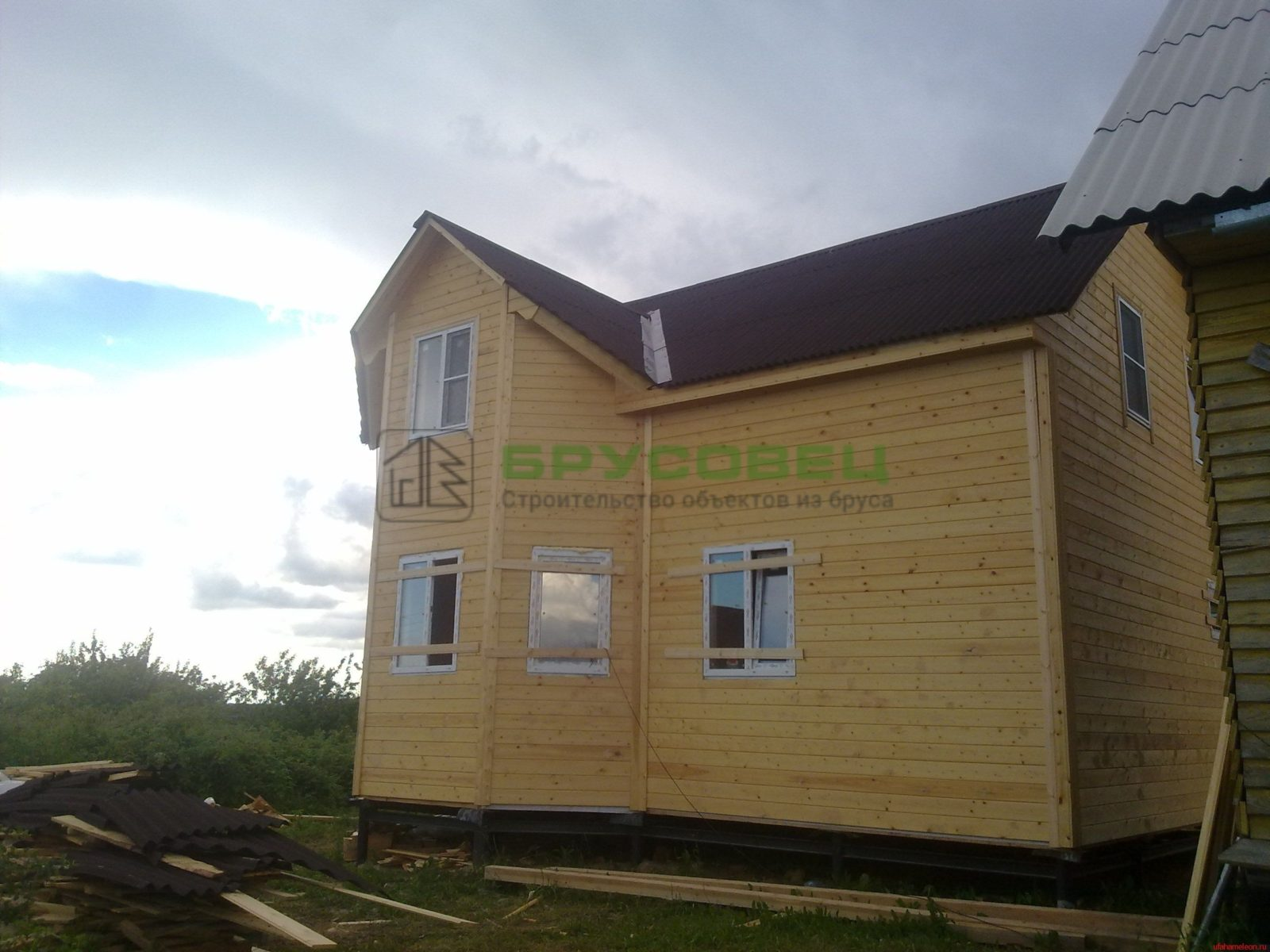 Дом «По индивидуальному проекту» 7х8м (под ключ)