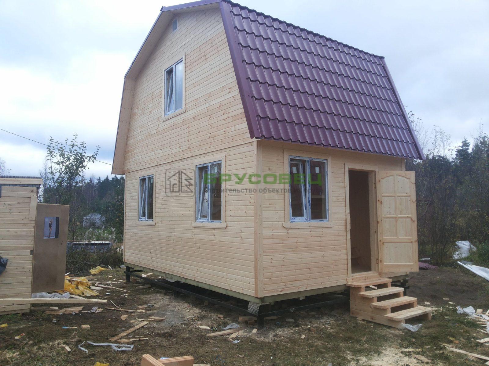 Дом «По индивидуальному проекту» 4х6м (под ключ)