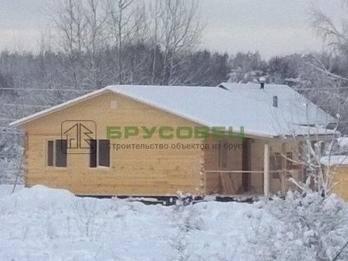Дом «по индивидуальному проекту» 10х10.1м (под ключ)
