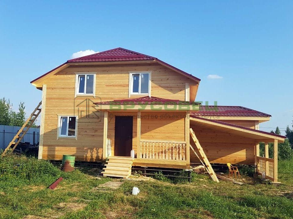 Дом по проекту «Алитус» 8×12м (под ключ)
