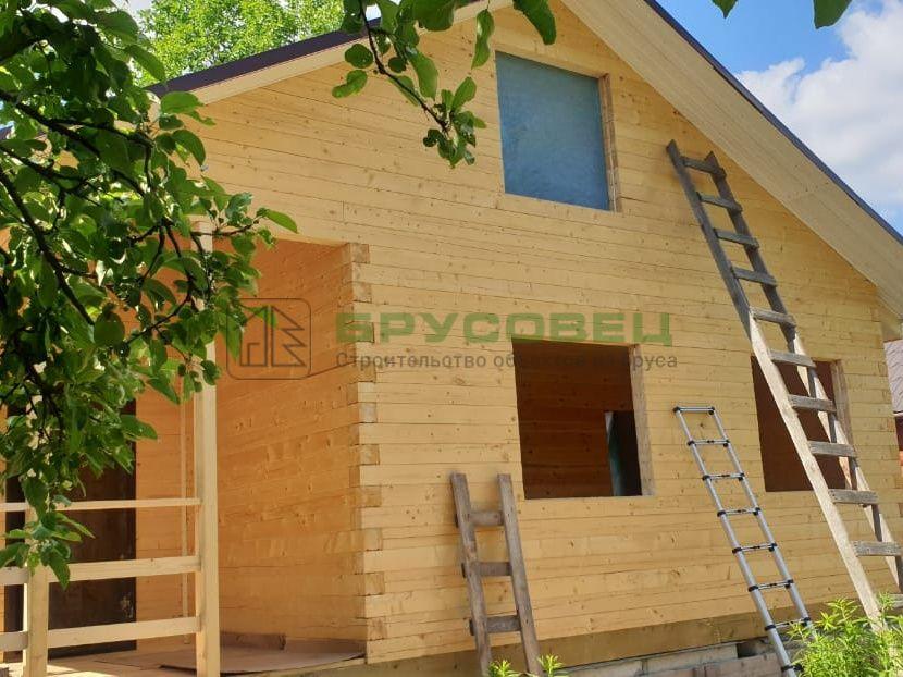 Дом по индивидуальному проекту 6×9 м (под ключ)