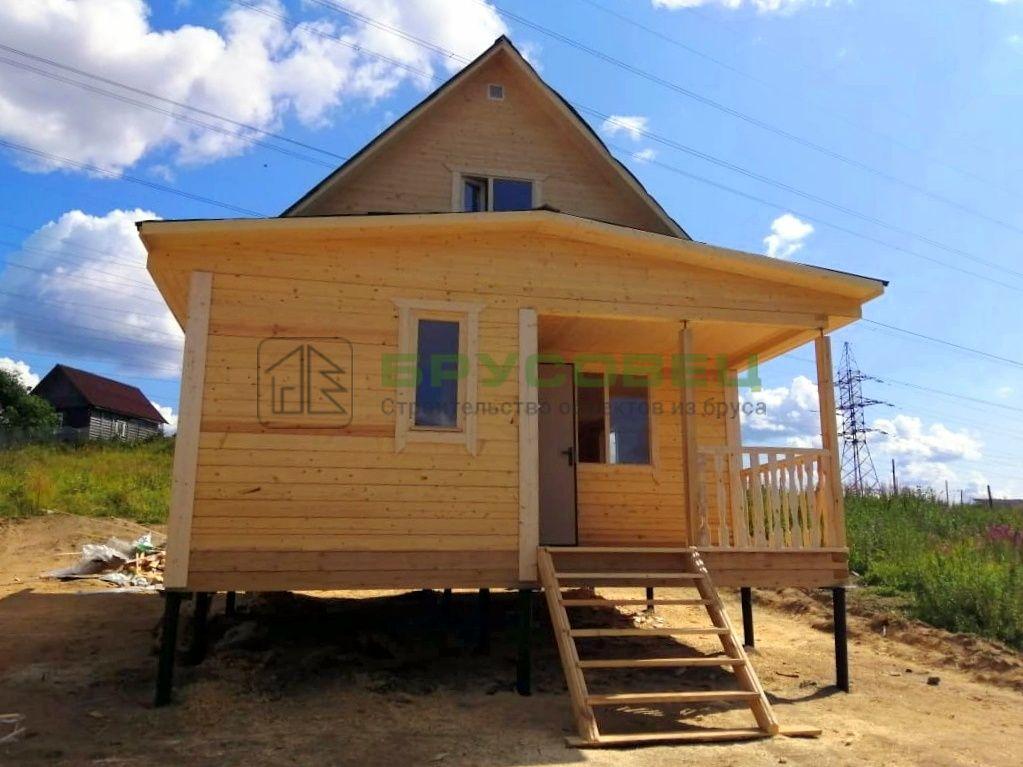 Дом по проекту «Осло» 6×8 м (под ключ)