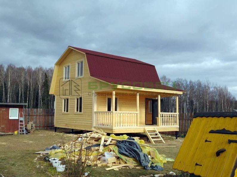 Дом по проекту «Верона» 6×8 м (под ключ)