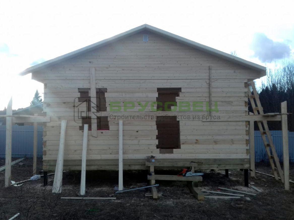 Дом по проекту «Регада» 6х4 м (под ключ)