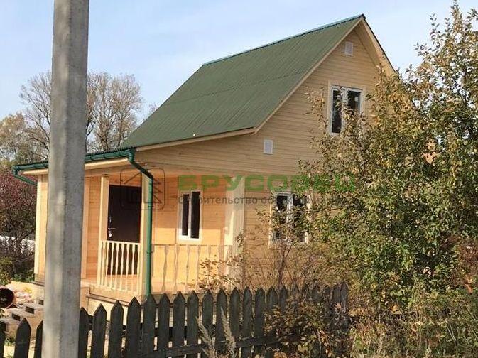 Дом по проекту «Нивель» 6×8 м (под ключ)