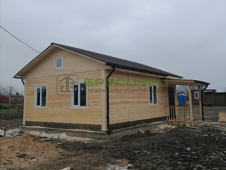 Дом по индивидуальному проекту 6х8 м (под ключ)