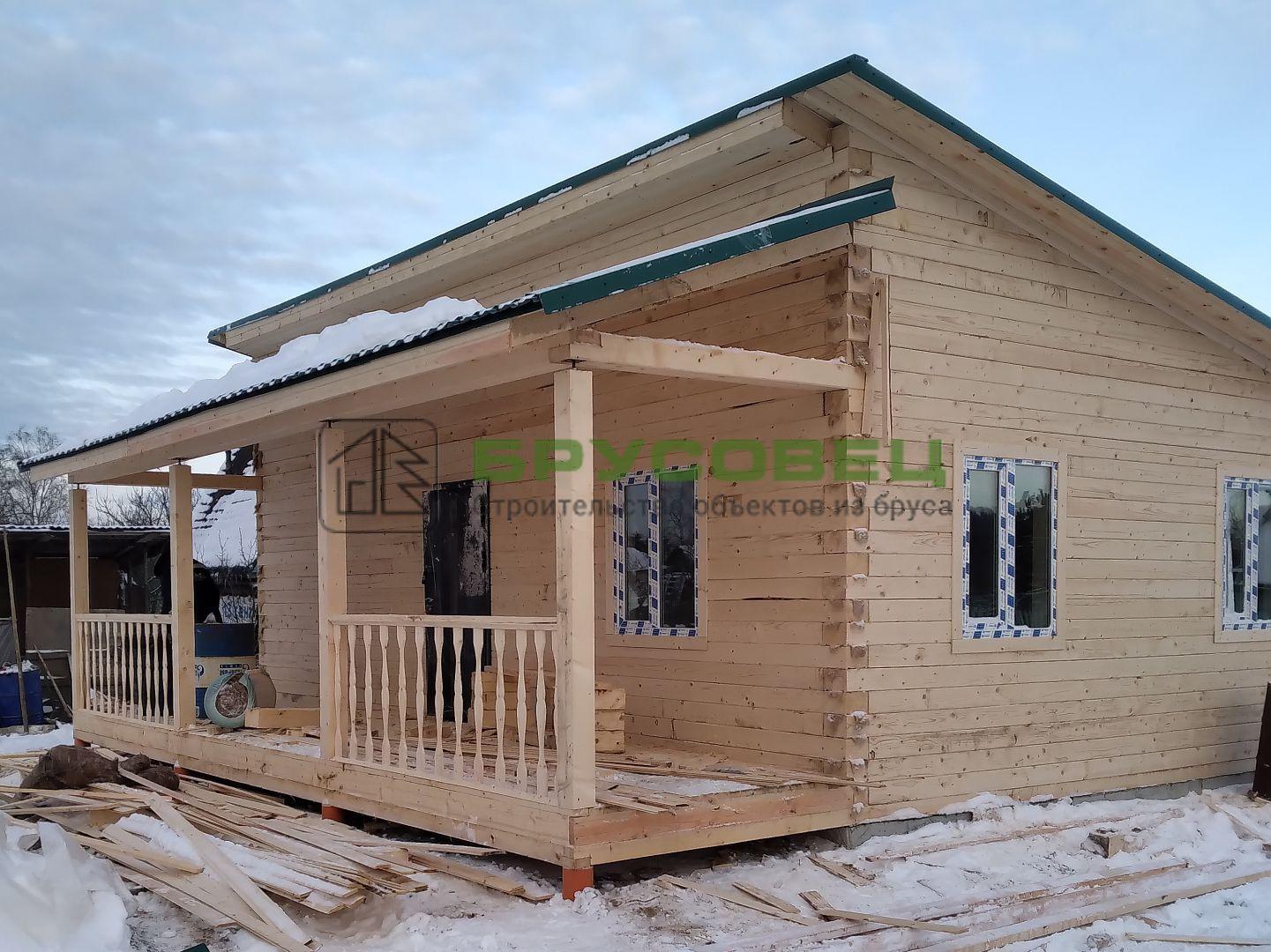 Дом по проекту «Лори» 8×9 м (под ключ)