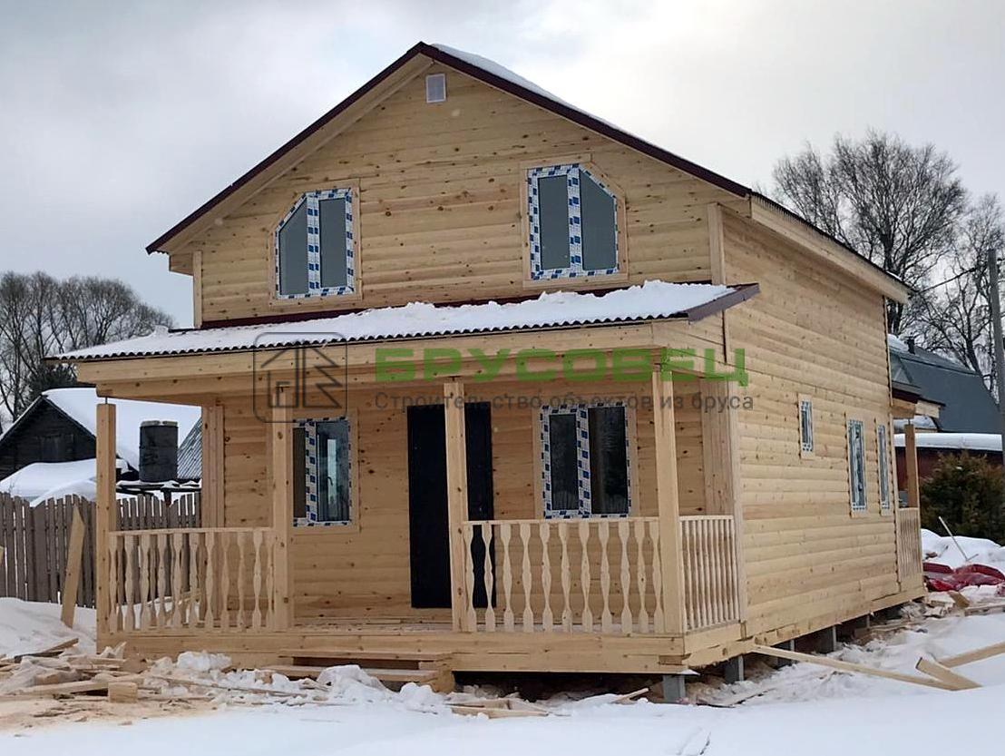 Дом по индивидуальному проекту 6×11 м (под ключ)