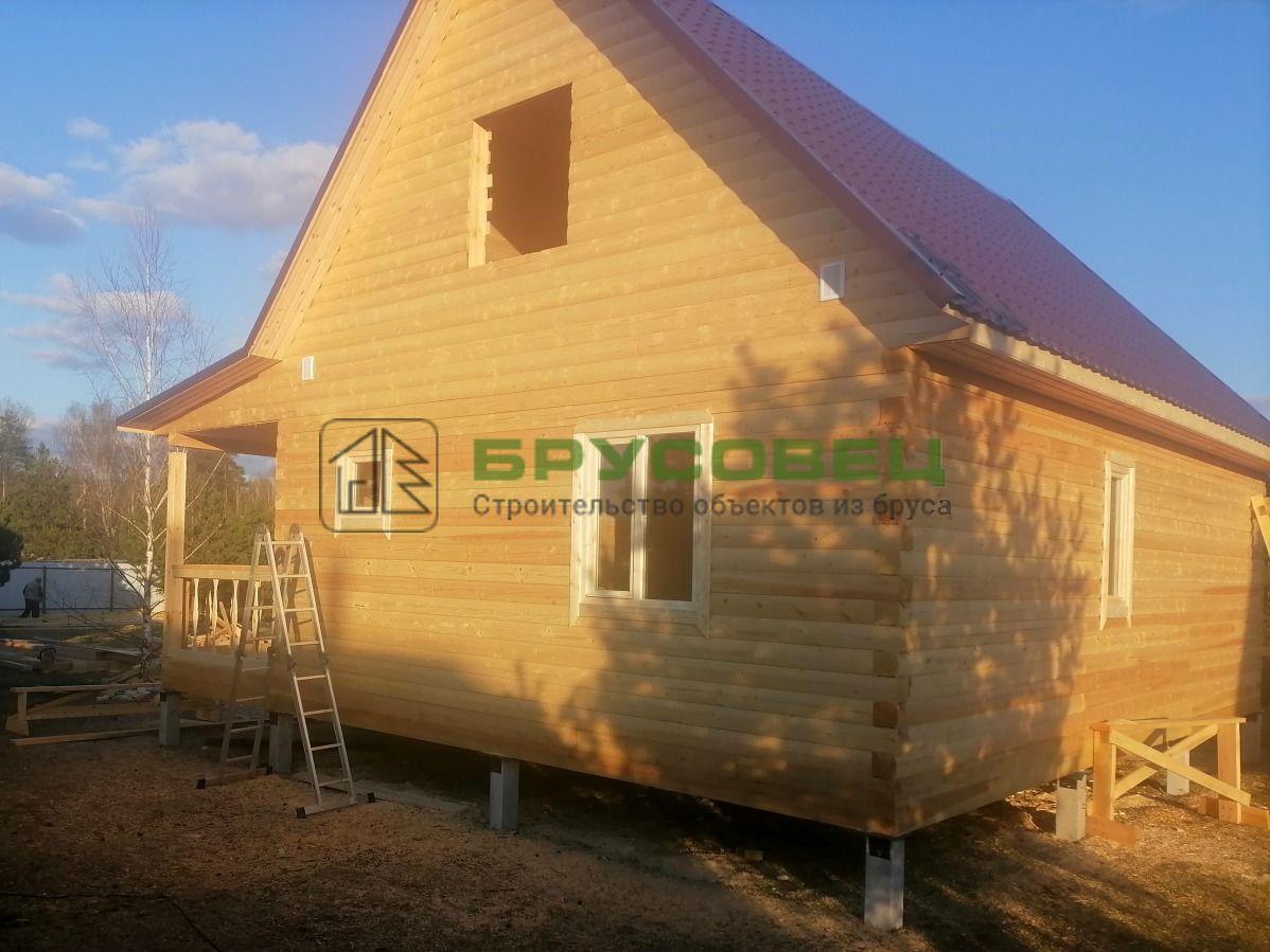 Дом по проекту «Орлеан» 8×9 м (под ключ)