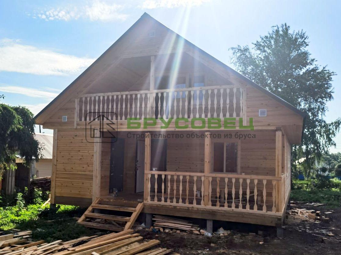 Дом по проекту «Севилья» 8×10 м (под ключ) с изменениями
